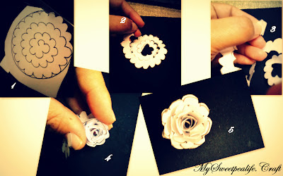 Tutorial Rose Brooch (Felt)