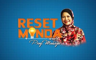 Reset Minda Guru oleh Prof Dr Muhaya