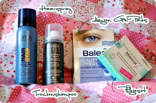 Aufgebraucht im Oktober  2013 - Haar- und Pflegeprodukte
