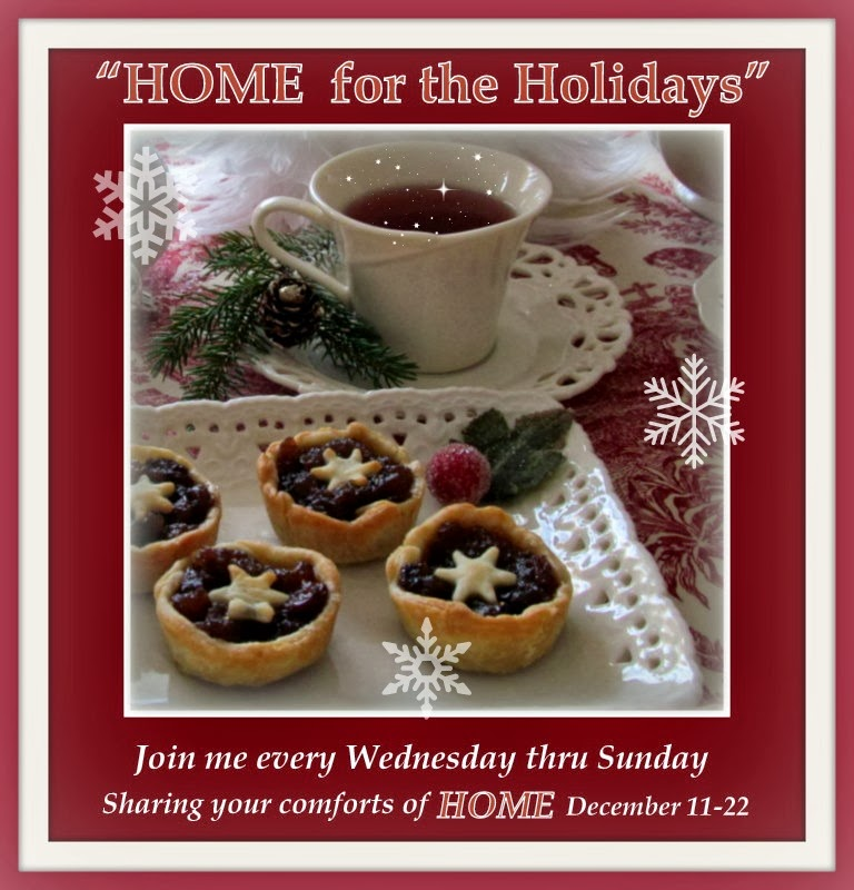 "Please join me for my ""HOME for the Holidays"" Party"