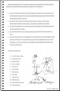 5 Kesepakatan Atasi Konflik Pemilukada Kabupaten Bima