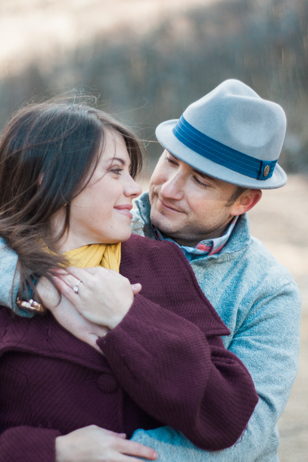 Katie + Dom's Winter Engagement Photo Adventure by Boone Wedding Photographer Wayfaring Wanderer