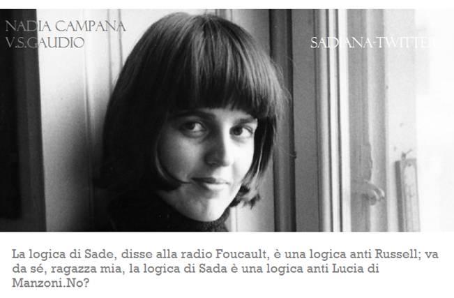 Sadiana-Twitter▐ La logica di Sade e la logica di Sada.