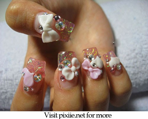 Extreme Nail Art Designs Wow Factor Nail Pixiie