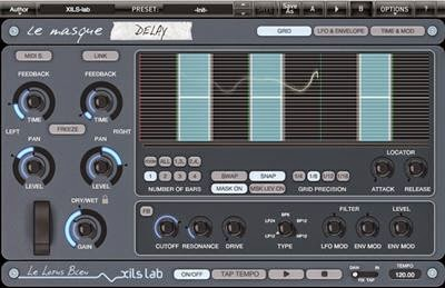 XILS-lab-Le-Masque-Delay-v1.0.0