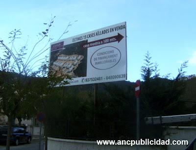 Valla publicidad