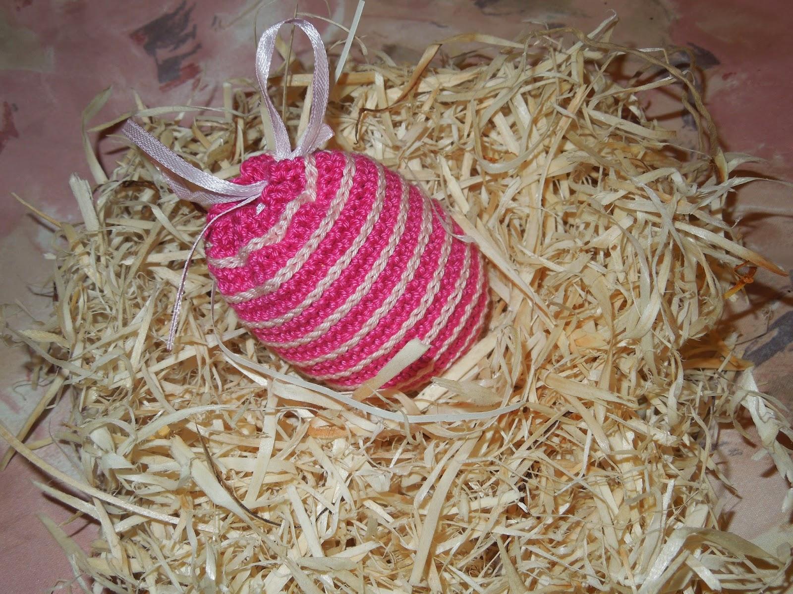 вязание крючком мешочки для яиц схема