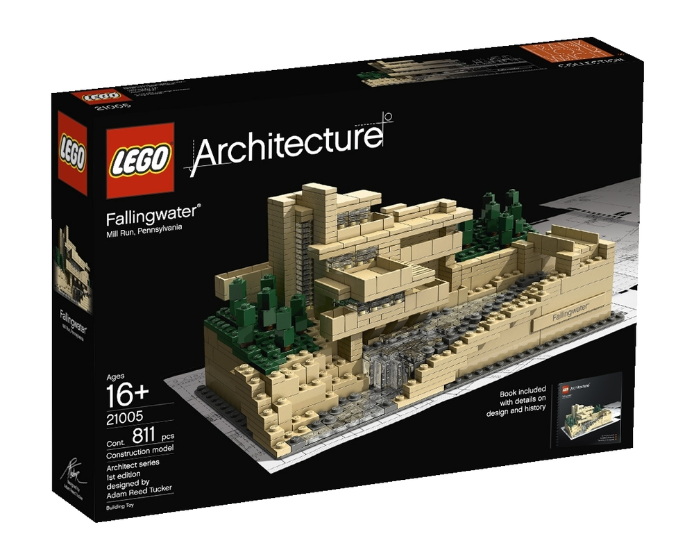 21005 fallingwater de lego. Black Bedroom Furniture Sets. Home Design Ideas