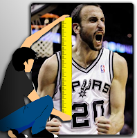 Manu Ginobili, Basketball, and Height - Tall Height
