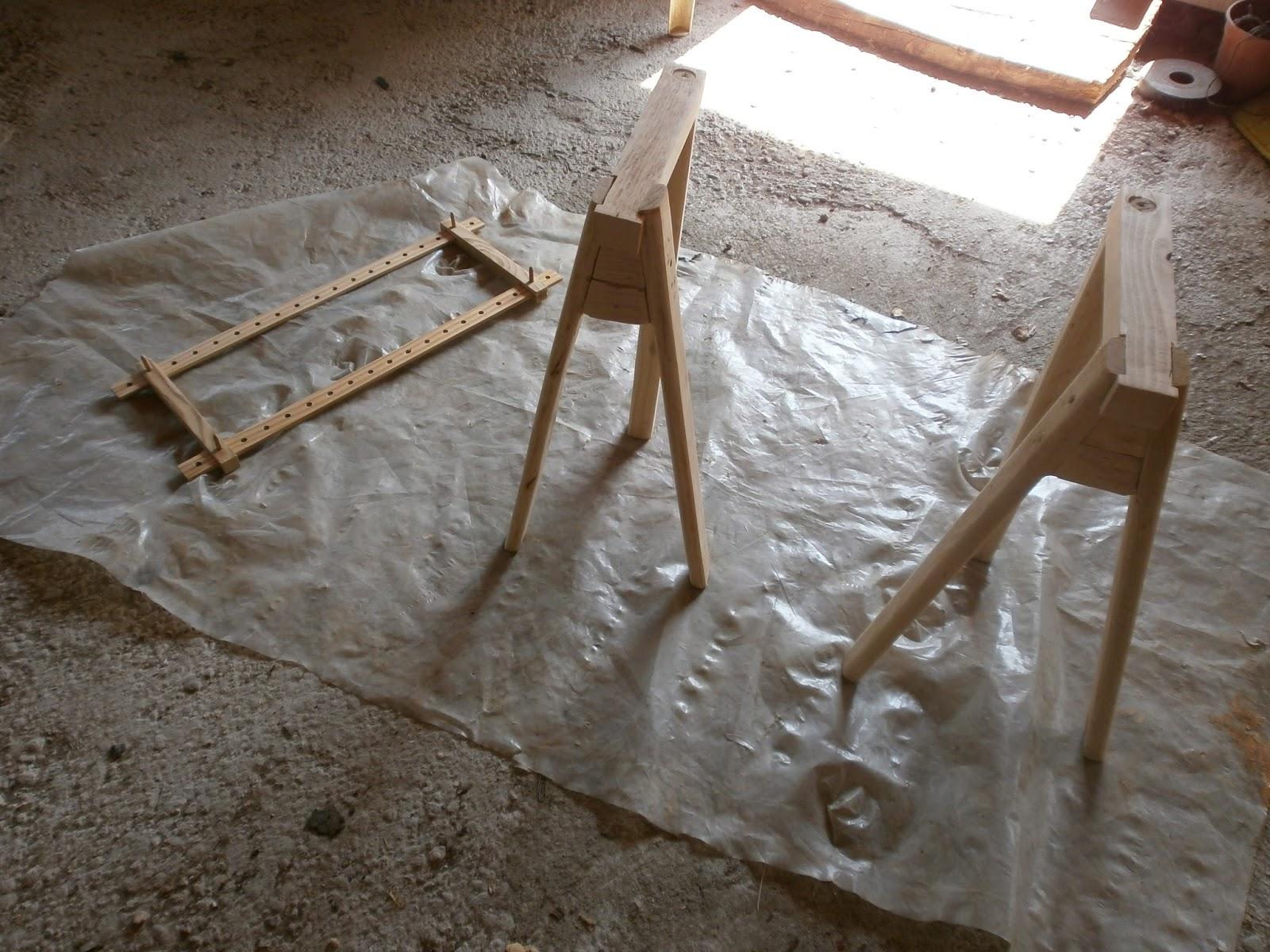 C 39 era un ricamo telaio medioevale - Telaio da tavolo per tessitura a mano ...