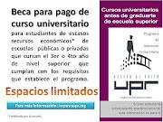 Beca para Pago Cursu Universitario