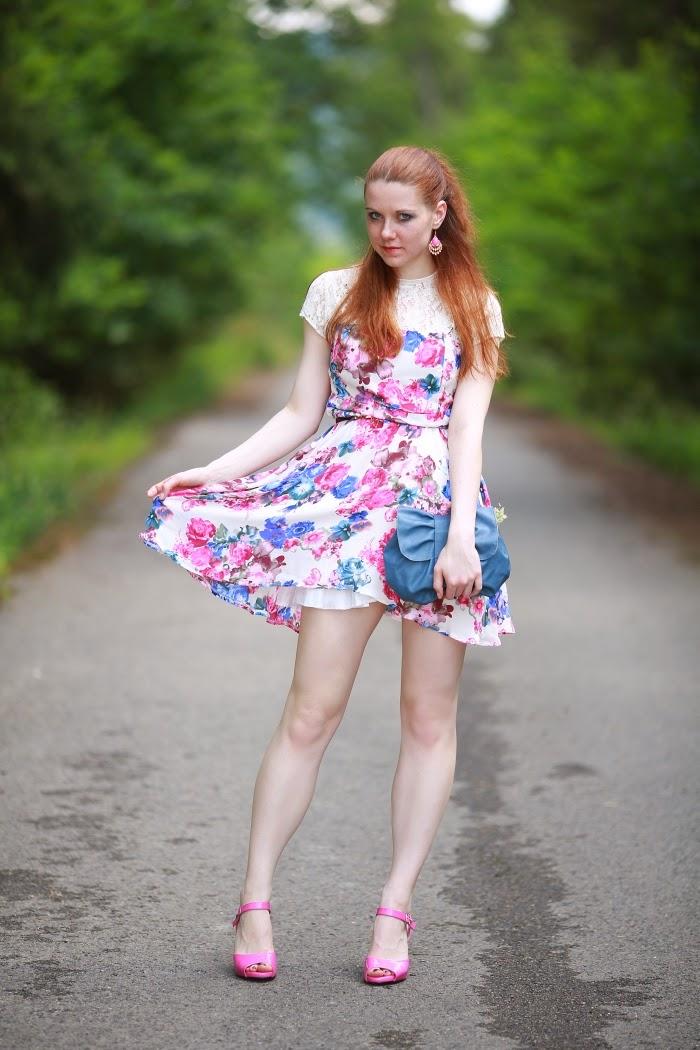 6ks, reno, kabelky, květinové šaty, trendy 2014