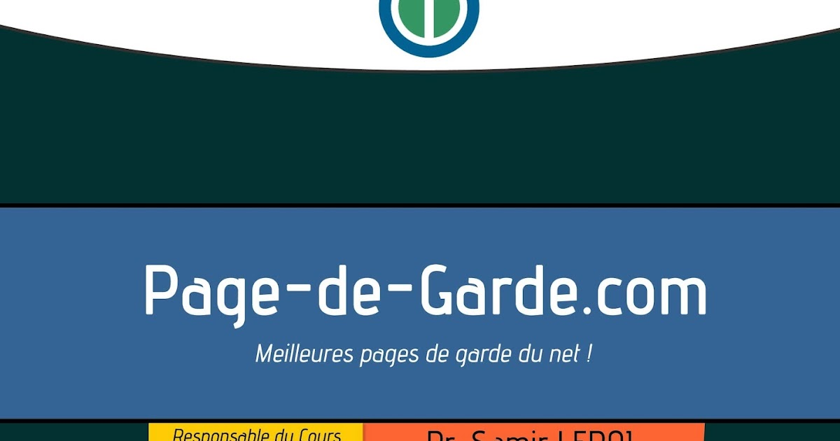 page de garde  u00e0 4 couleurs format word 2003 - 2007