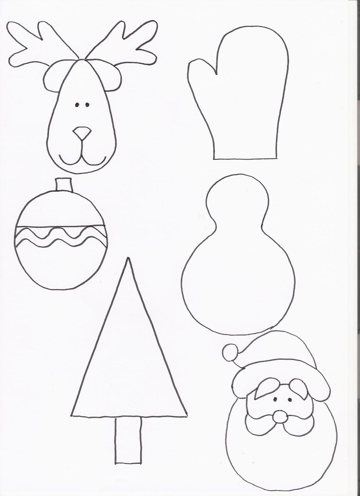 Mabi luna rbol de navidad de fieltro manualidades - Figuras de fieltro para navidad ...