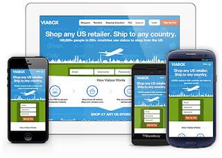 الحصول على عنوان امريكى للشحن من موقع ViaBox مجاناً.