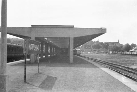 Portishead station.