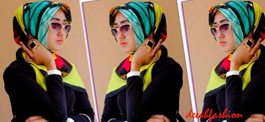 Bold Hijab Warna Warni Jilbab Fashion