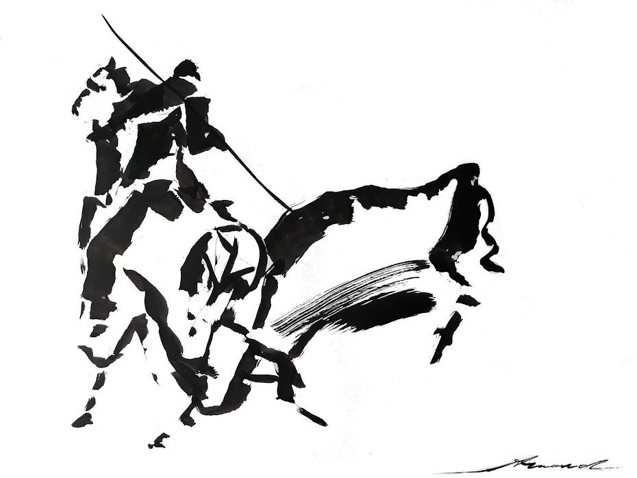 5 Encre de Chine au pinceau