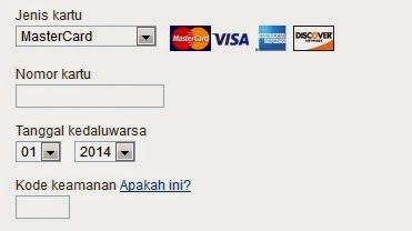 Cara Verifikasi Paypal dengan Kartu Kredit (Credit Card)