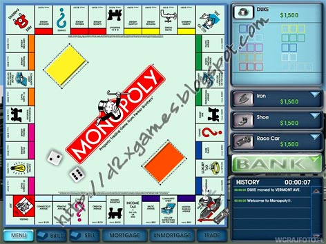 Free Download Games - Monopoly 2008