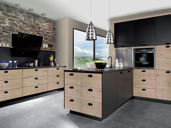 cuisine laqu e mate. Black Bedroom Furniture Sets. Home Design Ideas