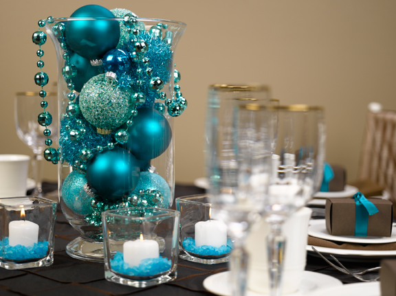 What you make it event decor winter wonderland style