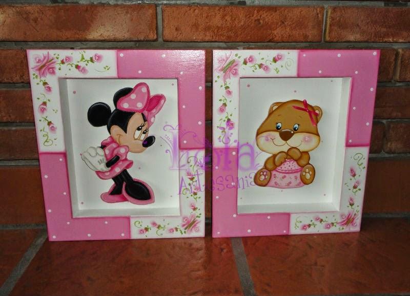 Lola artesan as cuadros con profundidad para nenas - Marcos con profundidad ...