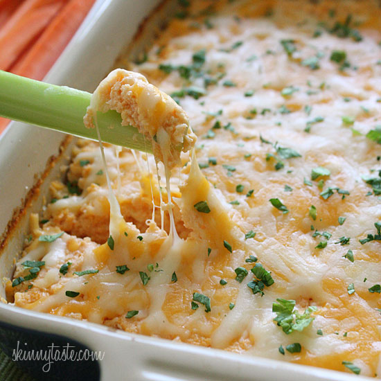 Food appetite: Hot and Spicy Buffalo Shrimp Dip