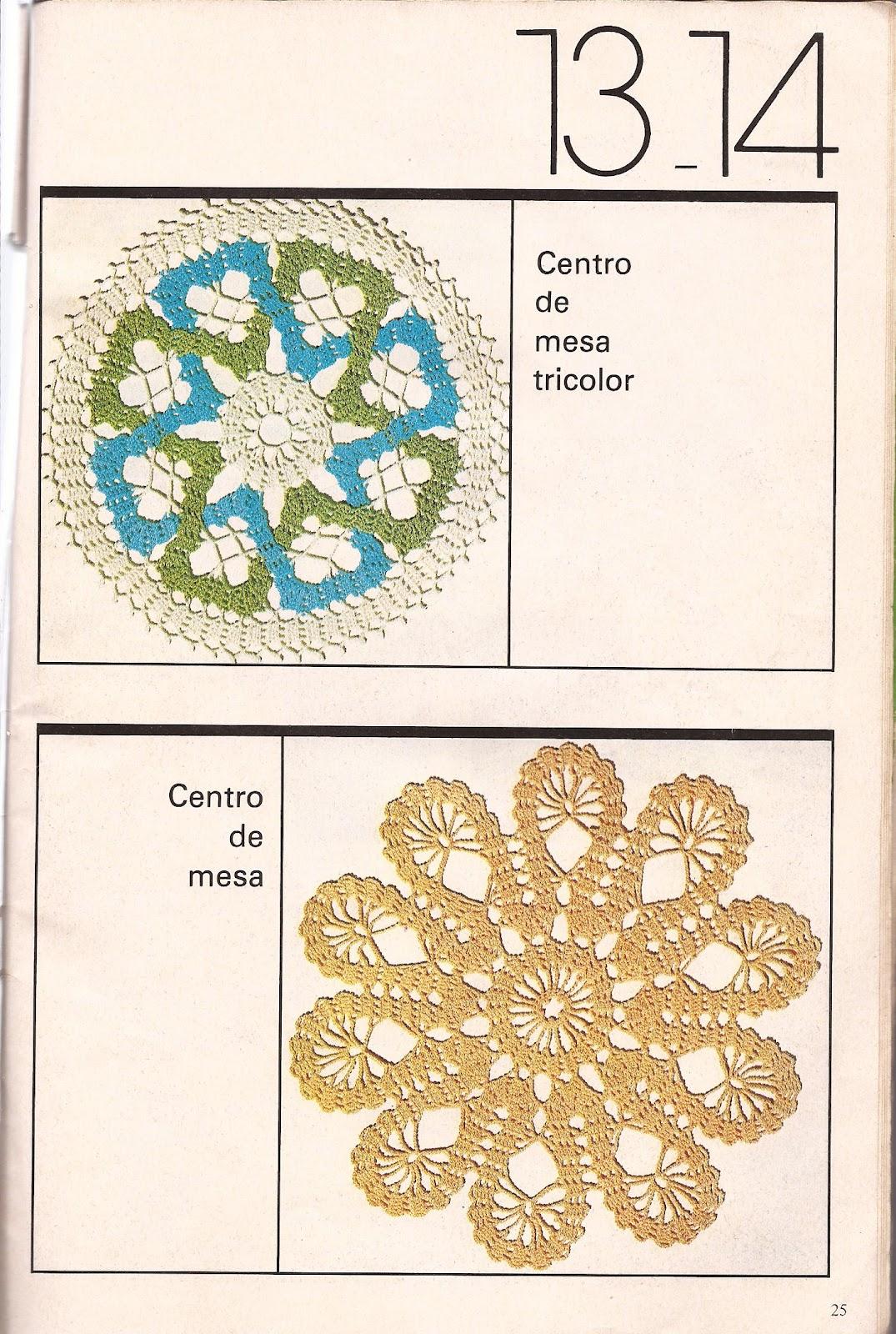 Retales Tiempo Hechos Crochet Modelos Tapetes