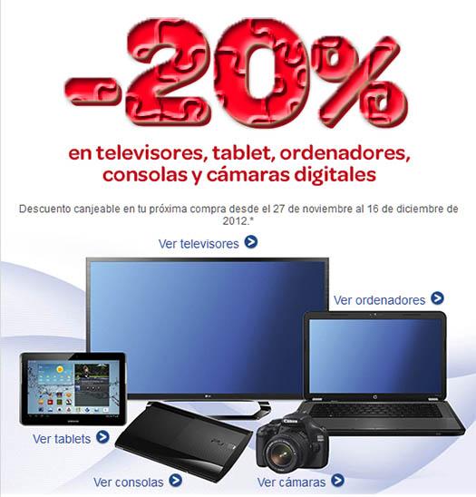 20 Descuento En Carrefour En Televisores Tablets