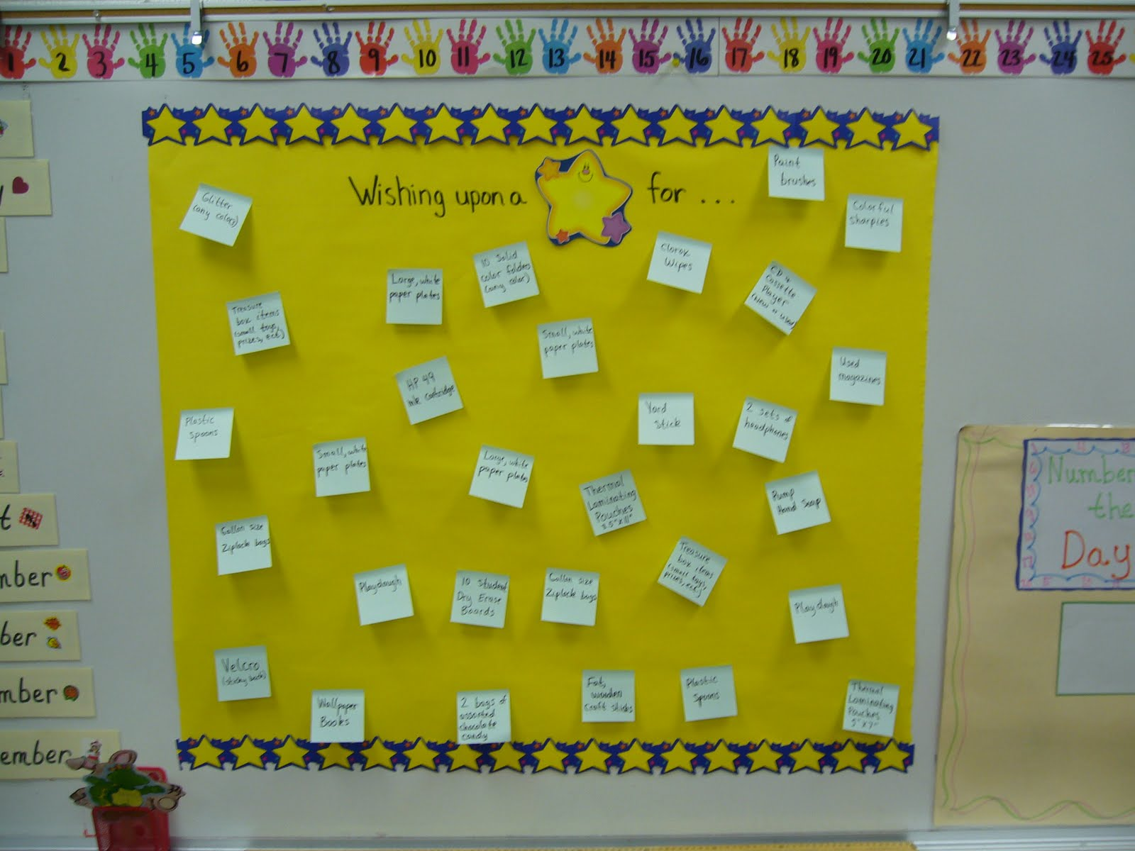 Classroom Wish List Ideas : Krazy fun teaching with mrs kacz open house ideas linky party