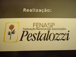 """""""FENASP"""" Federação Nacional das Associações Pestalozzi."""
