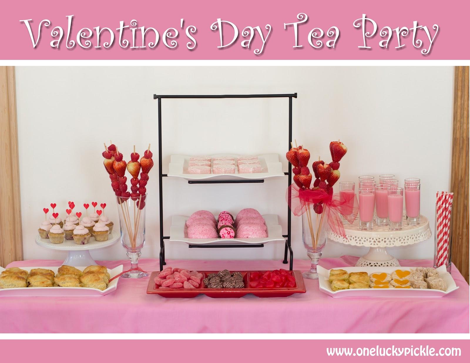 Valentineu0027s Day Tea Party