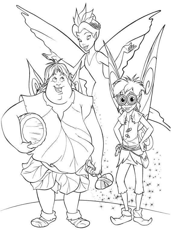 Imagenes y fotos: Dibujos de Tinkerbell para Pintar, parte 1