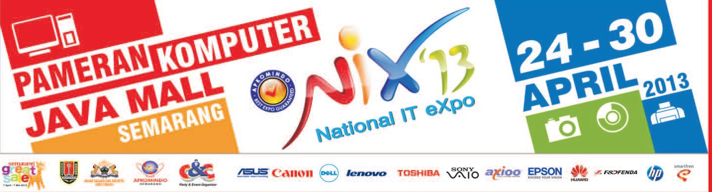 National IT Expo (NIX) 2013 Semarang ~ Pamboedi File's