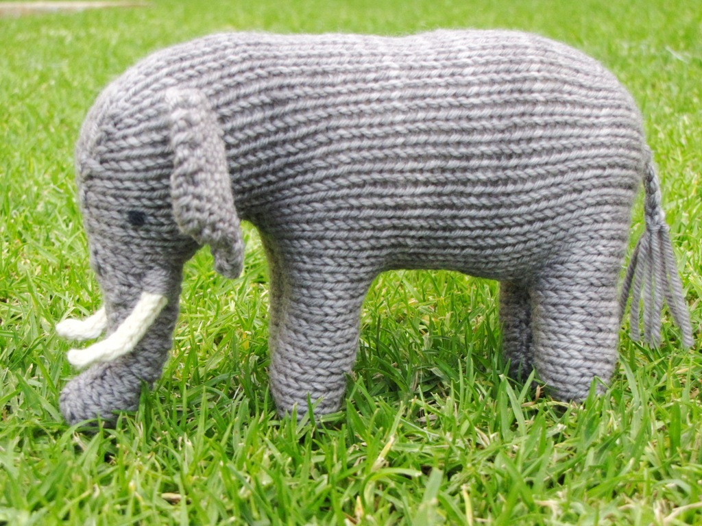 Ellie the knitted elephant and a small giveaway natural suburbia ellie the knitted elephant and a small giveaway bankloansurffo Images