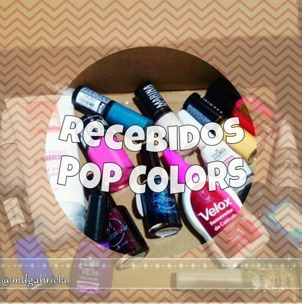Recebidos POP Colors