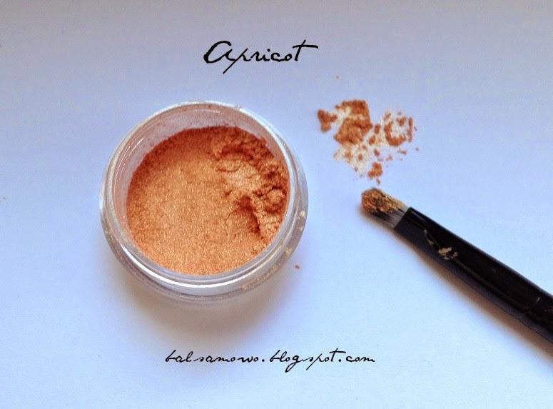 Perlowe pigmenty mineralne z kolorowka.com - Whisper of Angels, Apricot, Oriental Beige, Pale Tan