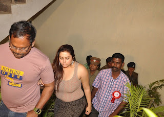 Namitha Boobs Press In Public