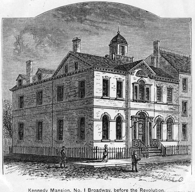 Daytonian in manhattan the lost 1745 kennedy house no for Broadway house