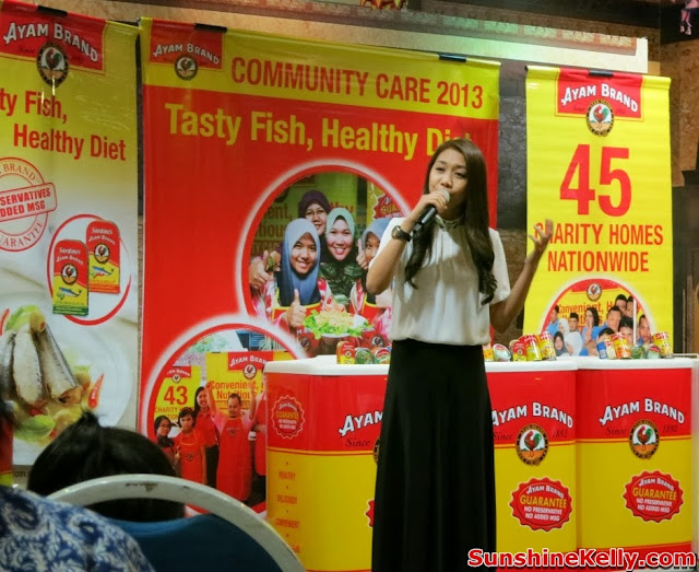 Ayam Brand, Tasty Fish Healthy Diet, community care, charity, csr, hunny madu