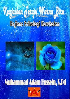 Sampul Buku Keajaiban Terapi Warna Biru