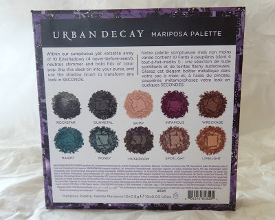 Urban Decay Mariposa Palette