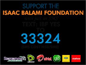 Support  Isaac Balami Foundation