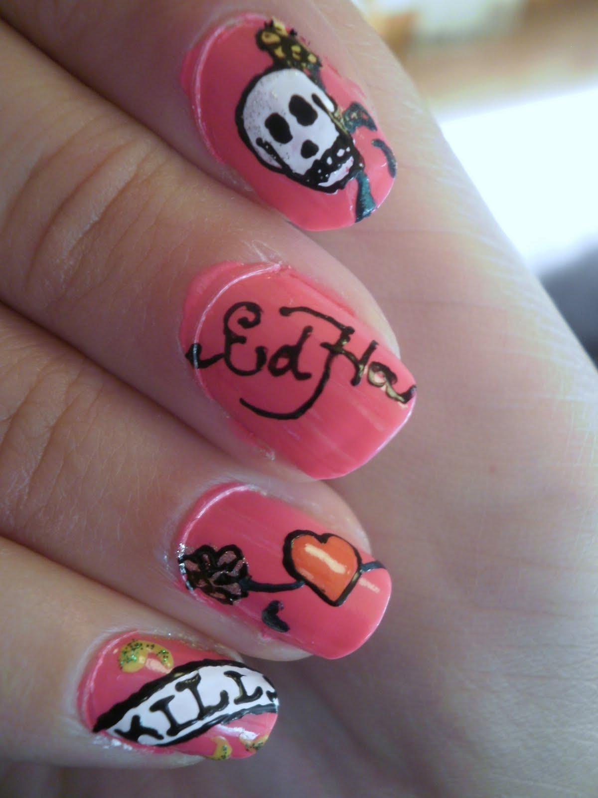 Crazy About Nails Ed Hardy Nail Art Vol 2