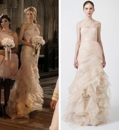 All in Fashion: Serena van der Woodsen's Bridesmaid Dress