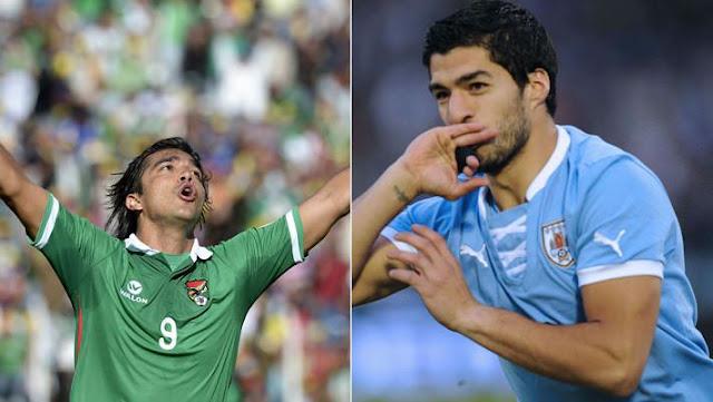 Ver partido Bolivia vs Uruguay en vivo