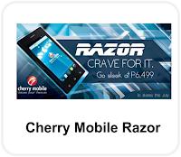 Cherry mobile Razor