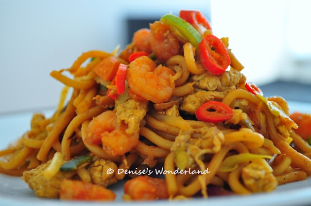 Malaysian Fried noodle recipe