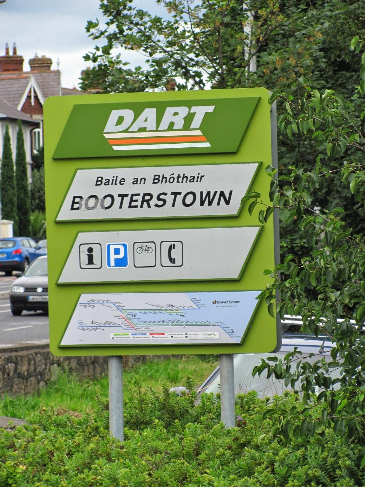 Booterstown Train Station Dublin, Ireland